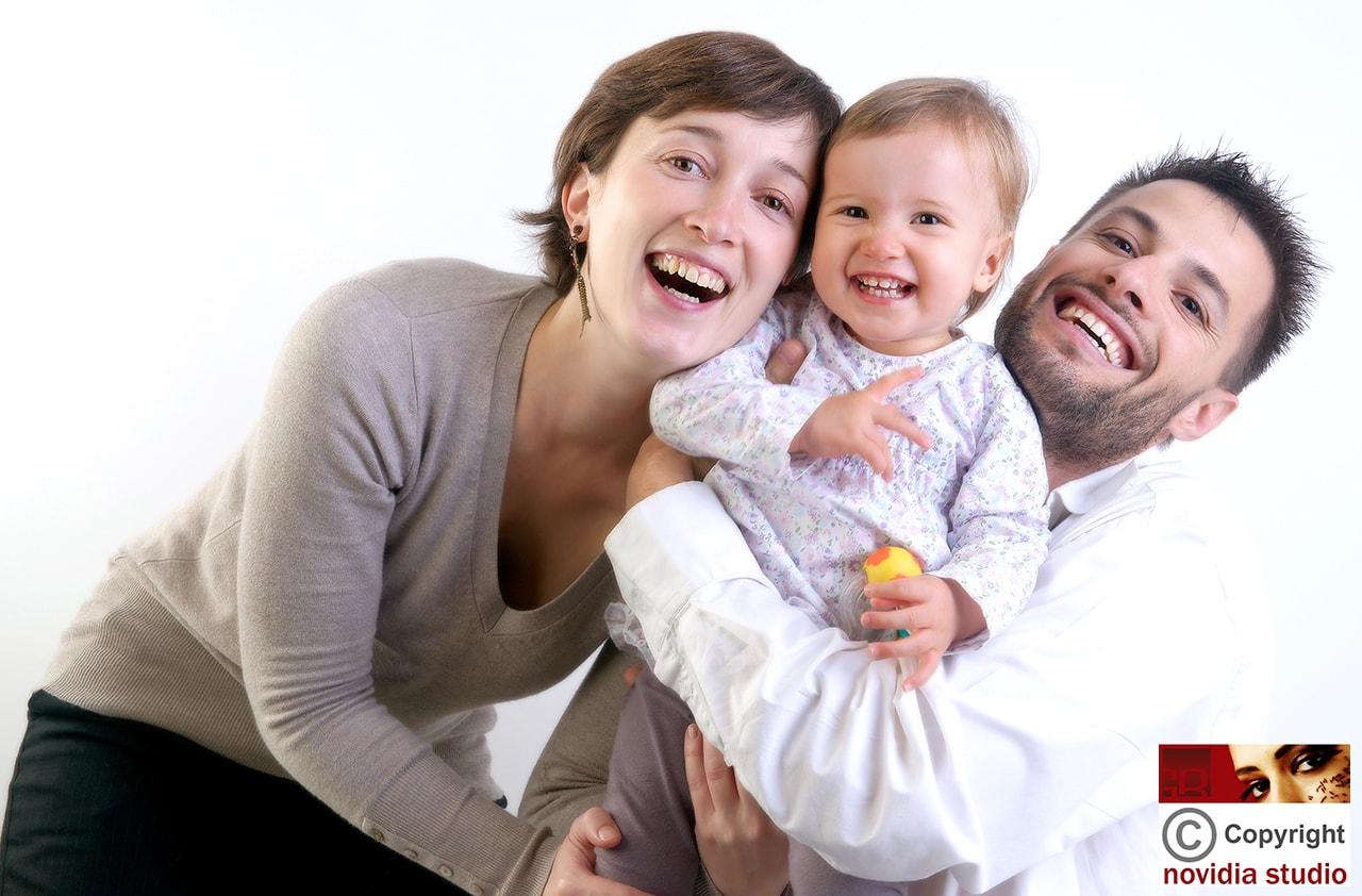 Photographe de famille à Lyon, à trois