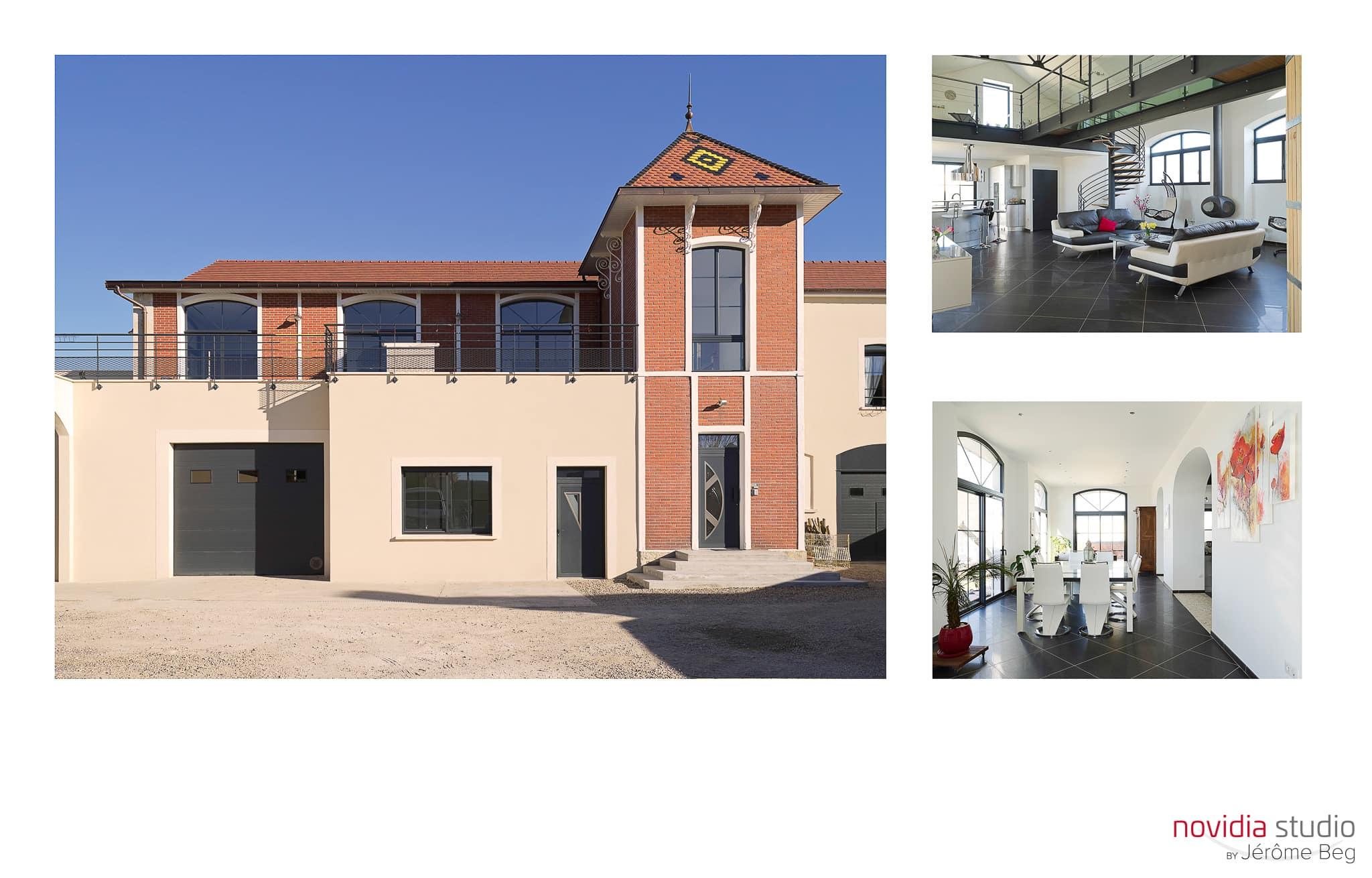 Photographe d'architecture et d'intérieur pour habitat et logement